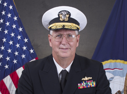 Navy Vice Adm. David H. Lewis, DMCA Director